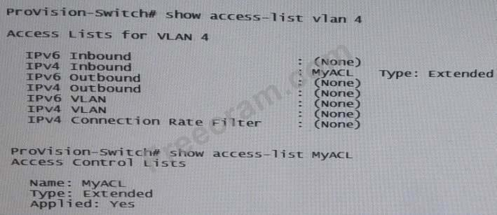 HP HP0-Y47 v2018-06-01 q55/No 28: Refer to the exhibit